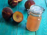 How to Make Peach Simple Syrup with Sugar Free Option