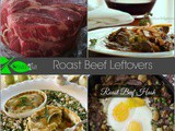 My Favorite Leftover Roast Beef Recipes and Roast Beef Hash
