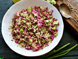 Purple Cauliflower Salad Recipe with Walnut Vinaigrette