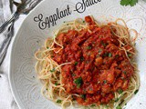 Spaghetti with Spicy Eggplant Sauce and Isnello, Sicily