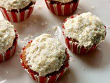Sugar Free Coconut Cupcakes Using Swerve Vanilla Box Cake Mix