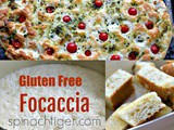 The Disappearing Focaccia Bread Recipe, (Gluten Free)