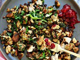 Turkey Stuffing Hash, Thanksgiving leftovers