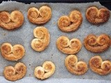 Cardamom, Ginger & Orange Palmiers
