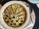Zucchini & Caramelized Onion Gratin