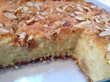 Almond and Cream Cheese Coffee Cake