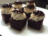Dipped Irish Cream Brownies