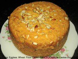 Gajar Ka Cake Eggless Wheat Flour Carrot Cake in Pressure Cooker Recipe In Marathi
