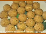Healthy and Nutritious Maharashtrian Dinkache Ladoo Recipe in Marathi