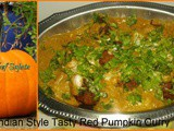Indian Style Tasty Red Pumpkin Curry Recipe  In Marathi