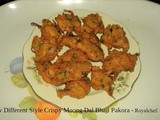 New Different Style Crispy Moong Dal Bhaji Pakora
