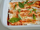 Eggplant Recipes : The Eggplant Bake – Aubergine & ricotta layers with rich tomato sauce –