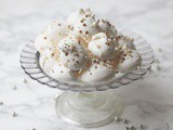 New Years Eve Coconut Meringue Kisses