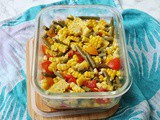 Sweetcorn, Green Bean and Tomato Salad
