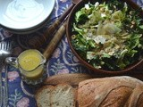 "Kale, Chicory, and Hazelnut ""Caesar"" Salad"