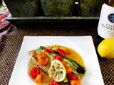 A successful marriage requires falling in love many times, always with the same person. -Mignon McLaughlin and Baked Tilapia with Cherry Tomatoes