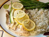 Age is not important unless you're a cheese. – Helen Hayes and Parchment Lemon Tilapia