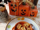 The morning of the first September was crisp and golden as an apple. ― j.k. Rowling and Turkey Stuffed Pepper Soup with Mini-Grilled Cheese Croutons