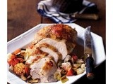 {Holiday Recipe} Roast Turkey Breast with Lemon and Sage Brown Butter