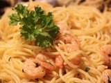 Shrimp Scampi with a Hint of Lemon