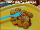 Fried Honey Banana