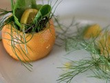 Mandarin and Fennel Salad with Champagne Citrus Vinaigrette #NaBloPoMo