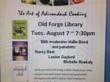 The Art of Adirondack Cooking at Old Forge Library