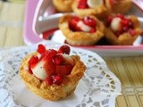 Bread Jam Fruit Cups