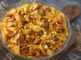 Cornflakes Namkeen – Cornflakes Mixture Recipe