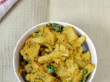 Aloo Gobhi | Easy Cauliflower Potato Curry {Version 2}