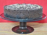 Dark Chocolate Cake with Chocolate Ganache