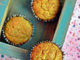 Gluten Free Banana Muffins | Using Chickpea Flour