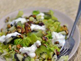 Honey Kiwi Walnut Salad