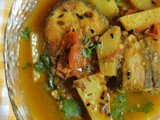 Macher Jhol ~ Bengali Fish Potato Curry