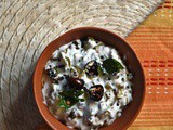 Vendakka Kichadi ~ Okra in Yogurt Sauce