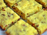 White Chocolate Goji Berry Blondies