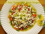 A Fun, Fast. Fantastic Appetizer w/ Feta, Tomatoes & Fresh Oregano