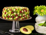 Avocado Cake with Key Lime Buttercream Icing