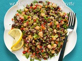 Black Bean & Quina Salad w/ Honey-Cumin Vinaigrette