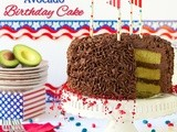 California Avocado Cake - Happy Birthday, Good Old usa