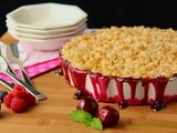 Cherry-Berry Cobbler w/ Toffee Streusel