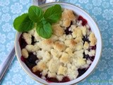 LIttle Black Dress Raspberry & Blueberry Cobblers