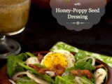 Spinach Salad w/ Honey-Poppy Seed Dressing