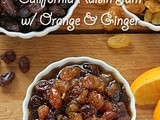 Sweet & Spicy California Raisin Jam w/ Orange & Ginger