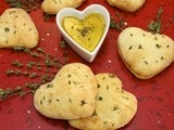 Valentine Focaccia Bread from the French Alps