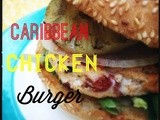 Caribbean Chicken Burgers and a Red Gold Giveaway! #RGParty
