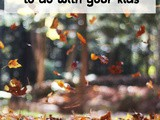 Fall Fitness Activities to do with Kids