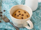 Gluten Free Chocolate Chip Mug Cake (Vegan)