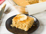 Gluten Free Cornbread with Dairy Free Honey Butter