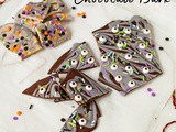 Halloween Chocolate Bark (Dairy Free)